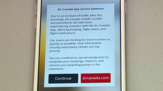 Air Canada, air canada breach, air canada app, dat