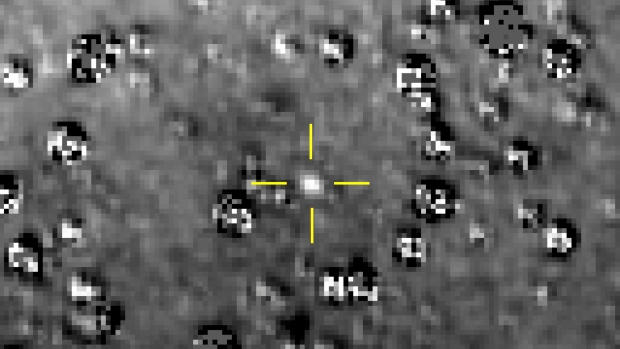 Pluto explorer spots next destination billion miles beyond