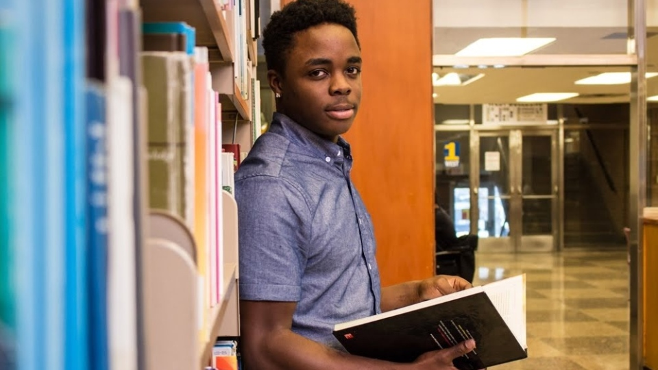 Jason Solomon appeared in a student feature in the University of Windsor publication The Lance in 2017.(Courtesy Selina McCallum for The Lance)