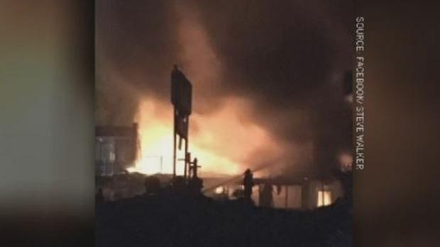 New Brunswick motel fire