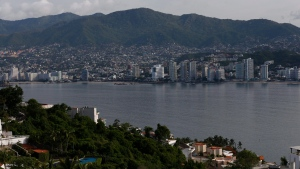 This June 20, 2018 photo, shows a view of Acapulco, Mexico. (AP Photo/Marco Ugarte)