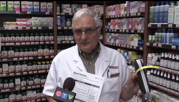 North Bay pharmacist Brian Chute