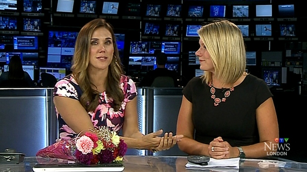 Tv news reporter having sex in back of news van