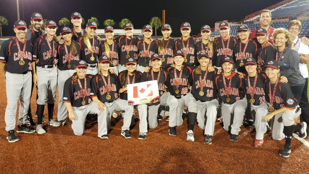 Canadian women's baseball team qualifies for 2020 World Cup