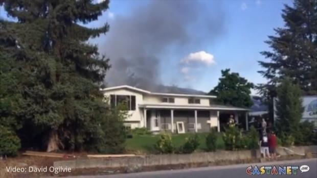 West Kelowna house fire