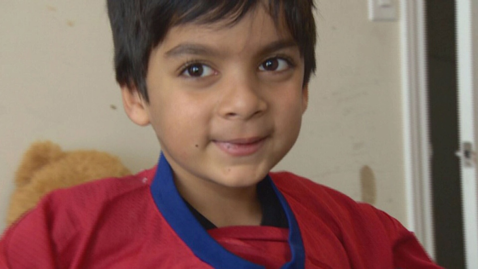 Sulemaan Ahmed's son Adam is nine years old, loves hockey and is constantly mistaken for a potential terrorist when he travels since he has the same name as a suspect on the no-fly list. (CTV)
