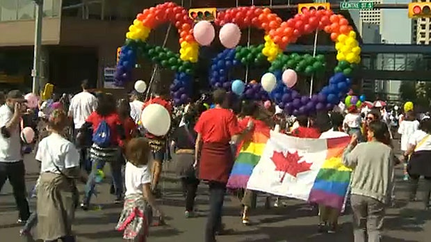 The Pride Parade wrapped up with a big party at Prince's Island Park and Pride Week will wrap up on Monday.
