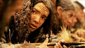 """Actor Kodi Smit-McPhee in the movie """"Alpha"""" set 20,000 years ago. (Sony Pictures)"""