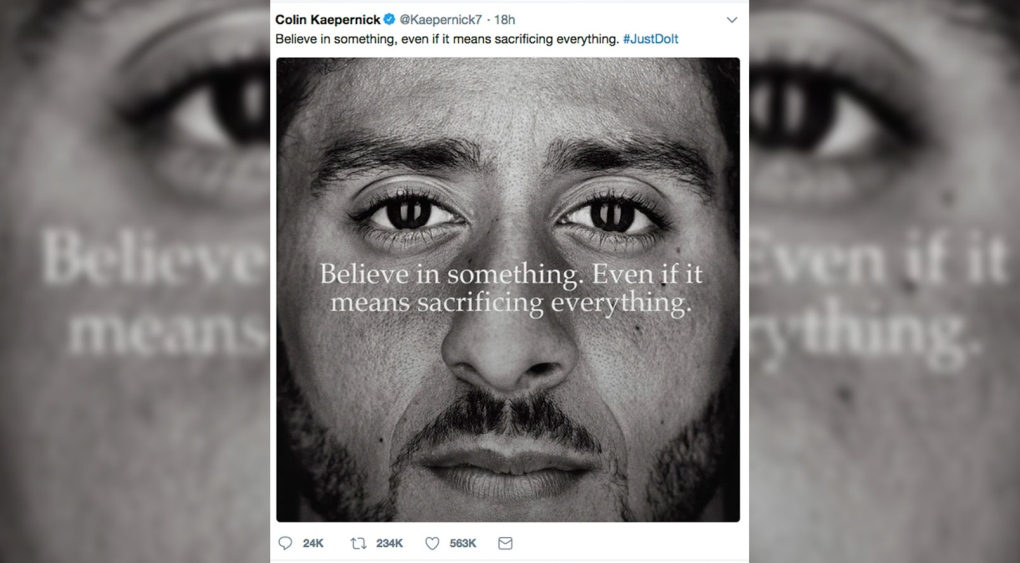 Lebron James Says He Stands With Nike In Reference To Kaepernick Ctv News