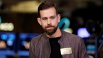 In this Nov. 19, 2015, file photo Square CEO Jack Dorsey is interviewed on the floor of the New York Stock Exchange. (AP Photo/Richard Drew, File)