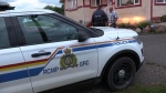 RCMP responding to a break-in call on a rural property (file)