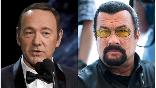 Prosecutors reject abuse cases involving Kevin Spacey, Steven Seagal