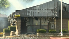 Cambridge OPP detachment bursts into flames