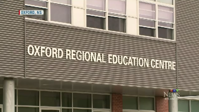 """We had bricks fall out of the mortar on to the floor of the school. That's obviously not acceptable. That creates a safety and health hazard for our students,"""" said Education Minister Zach Churchill."""