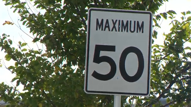 Residential speed limit - Calgary