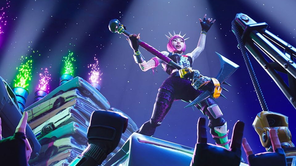 'Fortnite' video game image. (Epic Games)