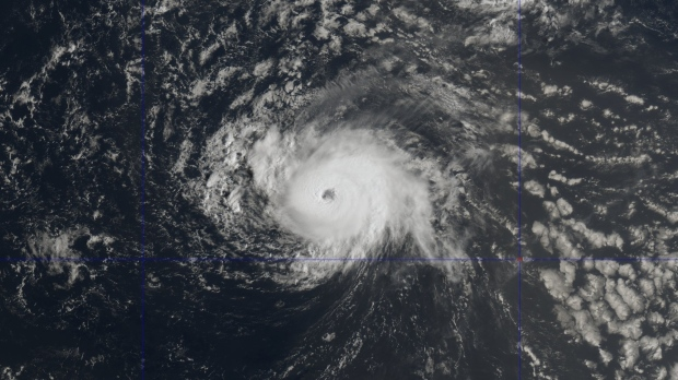 Hurricane Florence strengthens to a Category 3 storm