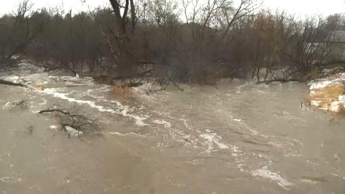 Nith River flooding