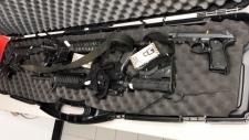 Gun shipped to Canada