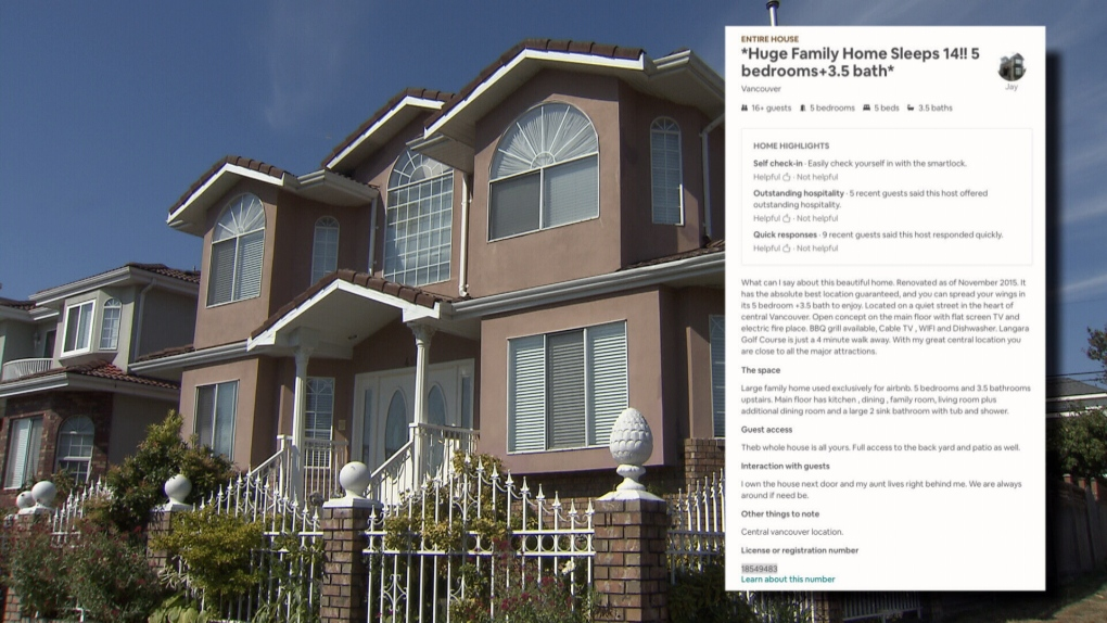 Airbnb crackdown in Vancouver
