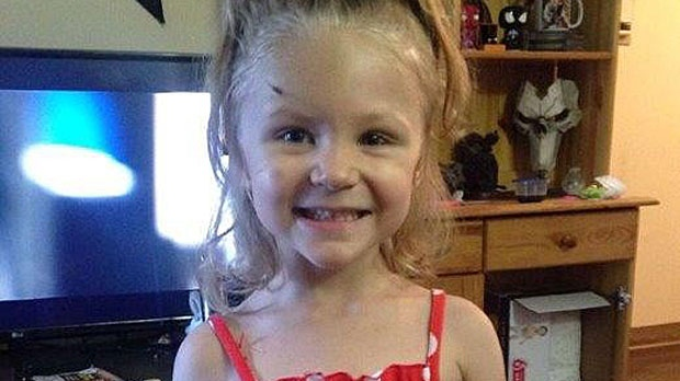 Three-year-old Ivy Wick died from her injuries in hospital in October 2017 (supplied)