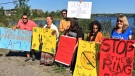 Ring of Fire protest in Sudbury