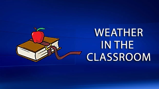Calgary weather in the classroom