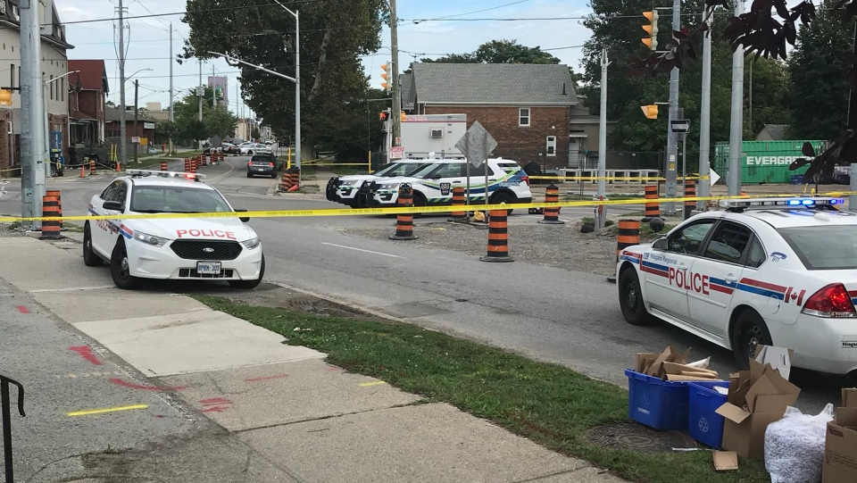 Multiple people have been rushed to hospital after a shooting in St. Catharines, Ont., on Sept. 6, 2018. (NewsTalk 610)