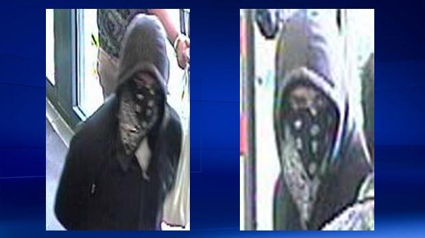 Weapons suspect - TD Canada Trust Castleridge