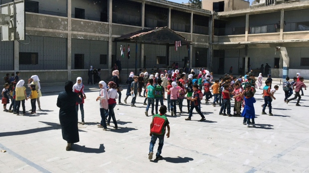 syrian students