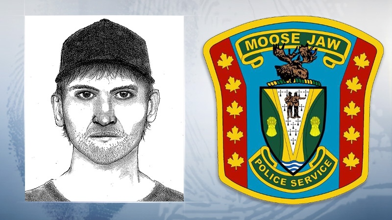 Moose Jaw sexual assault suspect.