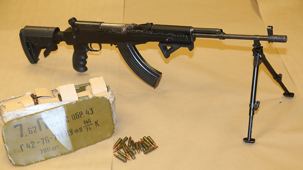 Ottawa gun bullets seized