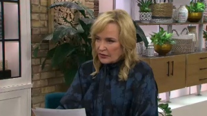 Marilyn Denis talks with CTV News Toronto's Pat Foran about the online scam trying to con her fans