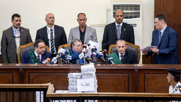 Egypt sentences 75 people to death over 2013 sit