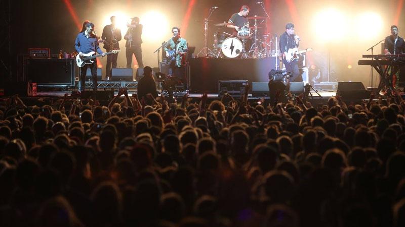 The Arkells performing on the first night of the Skookum Music Festival. Courtesy: Skookum Music Festival