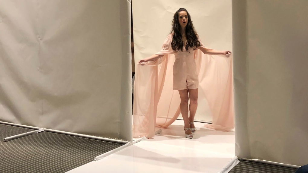 Model With Down Syndrome Struts Down Fashion Week Runway Ctv News