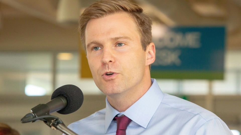 New Brunswick Premier Brian Gallant says he did not offer Blaine Higgs the post of finance minister.