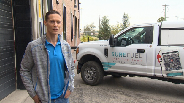 Maxwell Bracey, co-founder of Sure Fuel