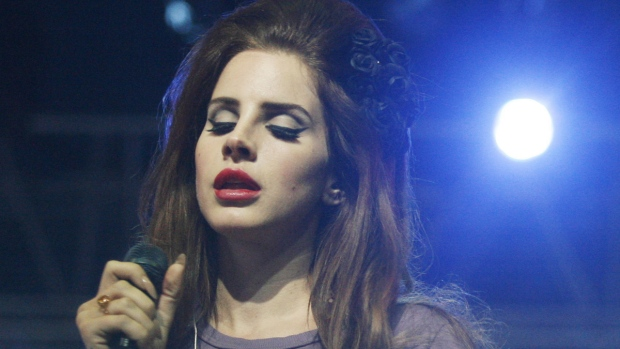 Lana Del Ray performs in 2012