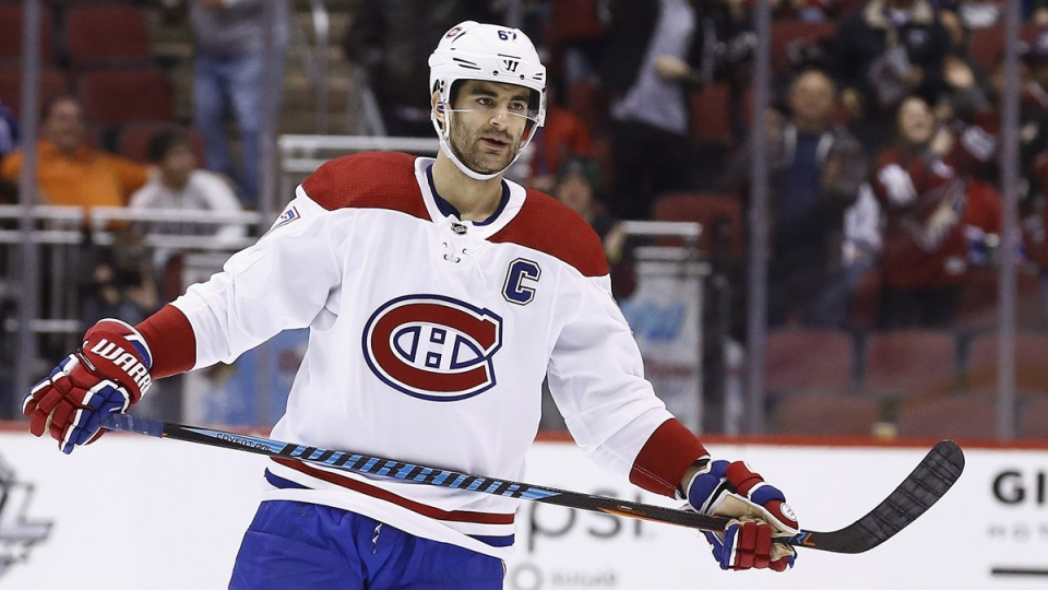 Canadiens owner Geoff Molson says ex-captain Max Pacioretty asked