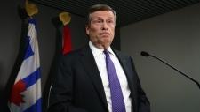 Toronto Mayor John Tory speaks