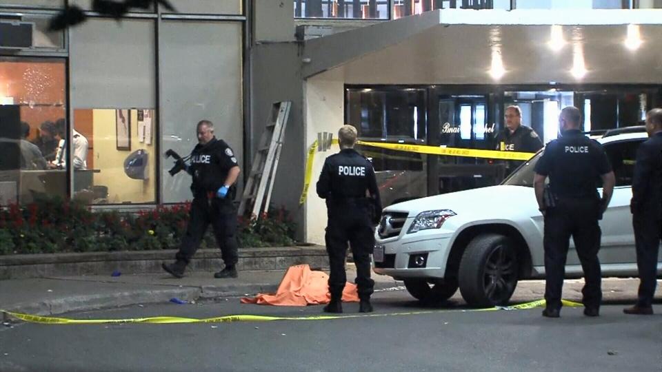 Parkdale balcony death
