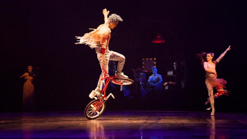 A performance of the Cirque du Soleil show 'Volta' is pictured. (Cirque du Soleil)