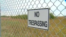 The province is considering changes to its trespassing law. (Stephanie Villella/CTV)