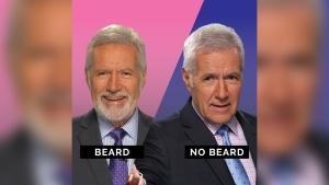 Jeopardy! has started a beard or no beard poll on Twitter. (Jeopardy! / Twitter)