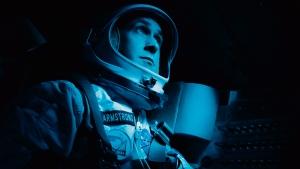 Ryan Gosling in a scene from 'First Man.' (Daniel McFadden/Universal Pictures via AP)