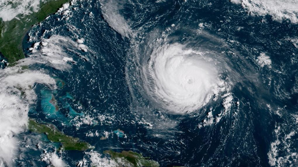 Hurricane Florence on Sept. 11