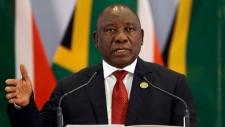 South African President Cyril Ramaphosa