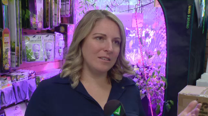 """""""People are very much interested in growing their own,"""" says Emily Tregunno of Halifax seed."""