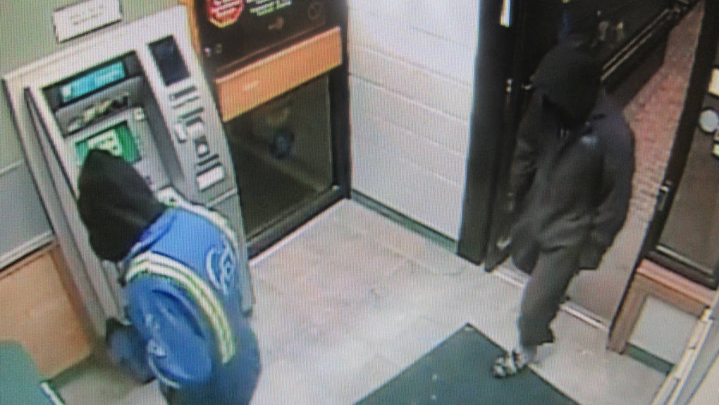 Lumsden attempted ATM theft